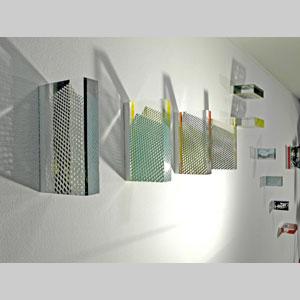 Acrylblöcke mit Lack bedruckt - Wand- und Raumobjekte