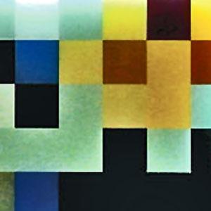 Glasarbeiten in Siebdrucktechnik