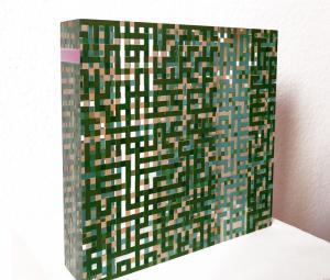 bloc vert carré